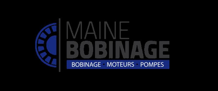 Maine bobinage logo fond transparent